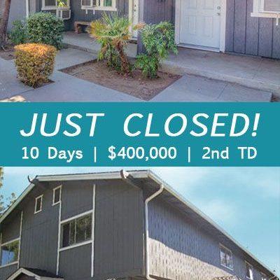 $400,000 | 2nd TD Loan